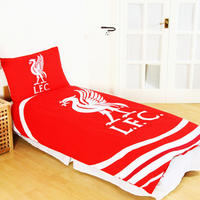 Liverpool - Club Crest Reversible Pulse Duvet Set (Single)