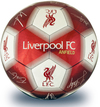 Liverpool - Club Crest & Players Signature Football (Size 5)