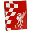 Liverpool - Club Crest Soft Cover A4 Note Book