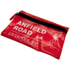 "Liverpool - Club Crest & ""ANFIELD Road L4""  Street Sign Flat Pencil Case"