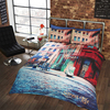 Street Life Duvet Set (Double)