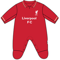 Liverpool - Club Crest & Logo Sleepsuit (12/18 Months) - Cover