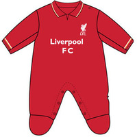 Liverpool - Club Crest & Logo Sleepsuit (6/9 Months) - Cover