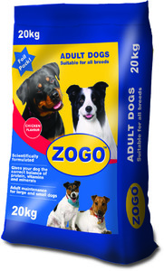 Zogo - Dry Dog Food - Chicken  (On Promotion till 31 Dec - Receive a FREE stainless steel Zogo Dog Bowl) (20kg) - Cover