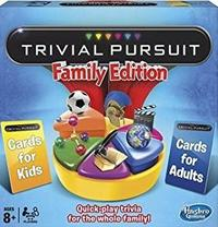 Trivial Pursuit - Family New Edition (Board Game) - Cover
