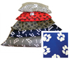 Afripet - Giant Water Resistant Dog Kennel Mattress (Royal Blue with White Paw)