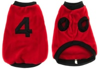 MCP - Sporty Dog Jersey - Red (Size: 3) - Cover