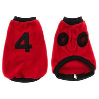 MCP - Sporty Dog Jersey - Red (Size: 4)