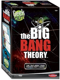 Geek Out! - Big Bang Theory Edition (Party Game) - Cover