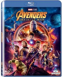 Avengers 3: Infinity War (Blu-ray) - Cover