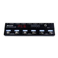 Mooer Pedal Controller L6 Programmable Loopswitcher with 6 Loops (With Tuner) - Cover