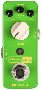 Mooer Rumble Drive Overdrive Pedal - Cover