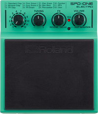 Roland SPD::ONE ELECTRO Electronic Percussion Pad (Green)