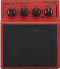 Roland SPD::ONE WAV PAD Percussion Pad (Red)