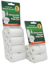 MCP - Biodegradable Flushable Dog Poop Bags (4 Rolls of 10x Bags)