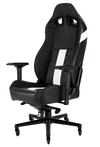 Corsair - T2 Road Warrior Gaming Chair - Black/White