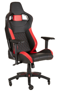 Corsair - T1 Race Gaming Chair 2018 - Black/Red - Cover