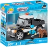 Cobi - Action Town - Police K-9 Unit (90 Pieces)