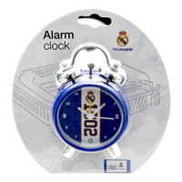 Real Madrid - Club Crest & Date Established Alarm Clock - Cover