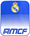 Real Madrid - Club Crest Fade Fleece Blanket