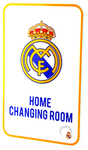 Real Madrid - Club Crest Home Changing Room Sign