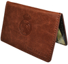 Real Madrid - Club Crest Leather Card Wallet Cover