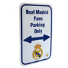 Real Madrid - Club Crest Fan Parking Sign