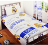 Real Madrid - Club Crest, Year Established & Street Sign Patch Duvet Set (Single)