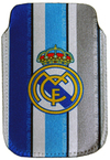 Real Madrid - Club Crest Stripe Smartphone Pouch
