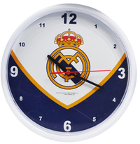 Real Madrid - Club Crest Swoop Wall Clock - Cover