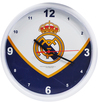 Real Madrid - Club Crest Swoop Wall Clock