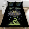 Rick And Morty - UFO Space Ship Reversible Duvet (Double) Cover
