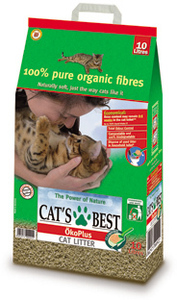 Cat's Best - Original Oko Plus Cat Litter (8.6kg) - Cover