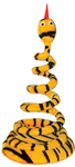 MCP - Standing Spiral Snake Cat Toy (Orange)
