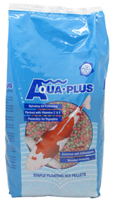 Aqua Plus - Fish Food Koi Pellets No.2 (25kg) - Cover