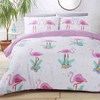 Flamingos Reversible Duvet (Single)