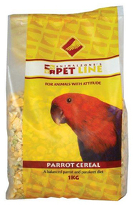 Animalzone - Parrot Cereal (1kg) - Cover
