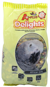 Aviplus - Delights African Grey (1kg) - Cover