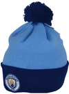 Manchester City - Club Crest Bobble Knitted Hat