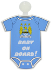 Manchester City - Club Crest Kit Baby On Board Sign Cover