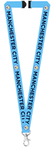 "Manchester City - Club Crests & Print ""MANCHESTER CITY"" Lanyard"