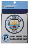 Manchester City - Club Crest No Parking Sign