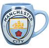 Manchester City - Club Crest Tea Tub Mug (Ceramic Boxed Mug)