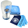 Manchester City - Wordmark Club Crest Mini Bar Set
