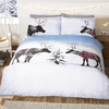 Reindeer Jumper Christmas Duvet Set (Single)