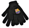 FC Barcelona - Black Knitted Gloves