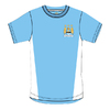 Manchester City - Club Crest Mens Sky Blue T-Shirt (Large)