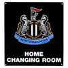 Newcastle United FC - Home Changing Room Sign