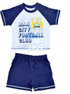 Manchester City - Boys Shorts Pyjama (7-8 Years)