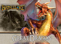 BattleLore (Second Edition) - Great Dragon Reinforcement Pack (Board Game) - Cover